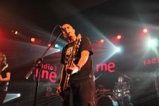 """Victor Martinez """"Moro"""" durante la grabación en RNE 3. Foto: Chema Granados."""