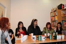 Una instantánea del debate.Foto: Rockcultura Web Site