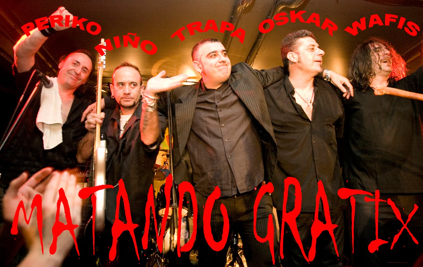 MATANDO GRATIX en directo sala Gruta 77. Foto: Archivo
