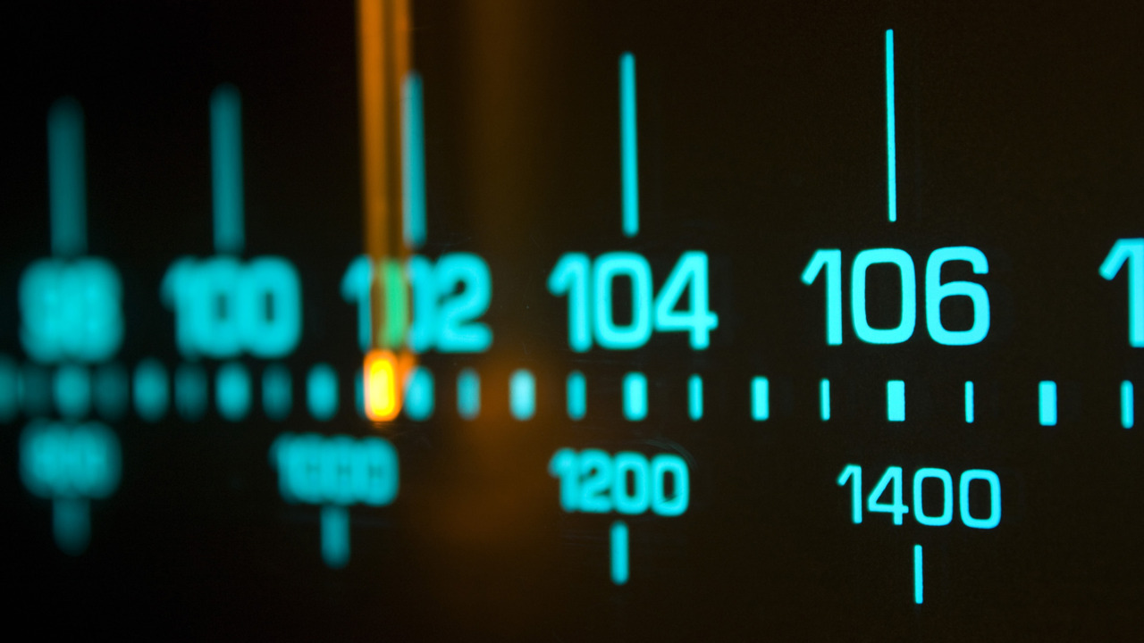 Radio Scale Night Pulsarmedia Wallpaper