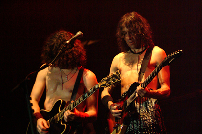 EXTRENODURO en uno de sus conciertos. Foto: Web Oficial Extremoduro