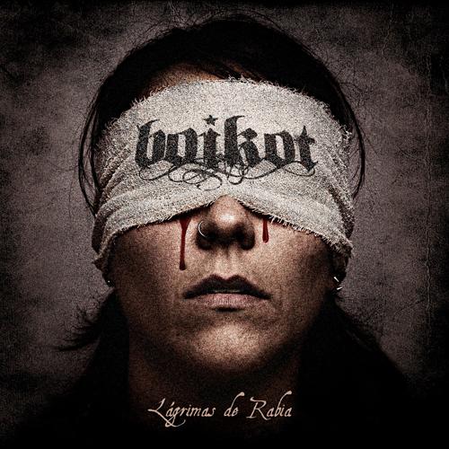 """Portada del  nuevo disco de BOIKOT """"Lagirmas De Rabia"""""""