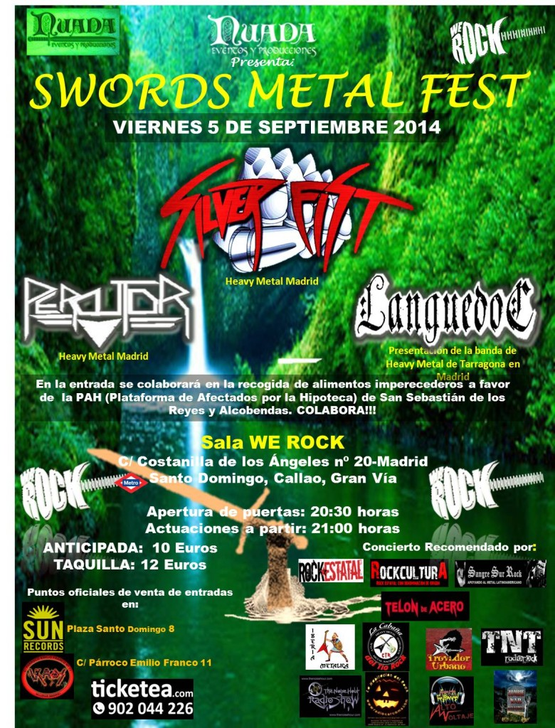 cartel definitivo sword metal fest
