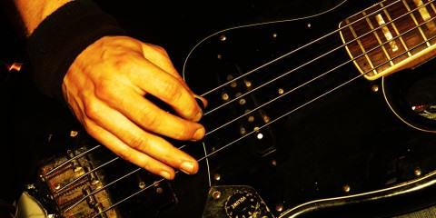 Details of a rockgig. Motioneffect!