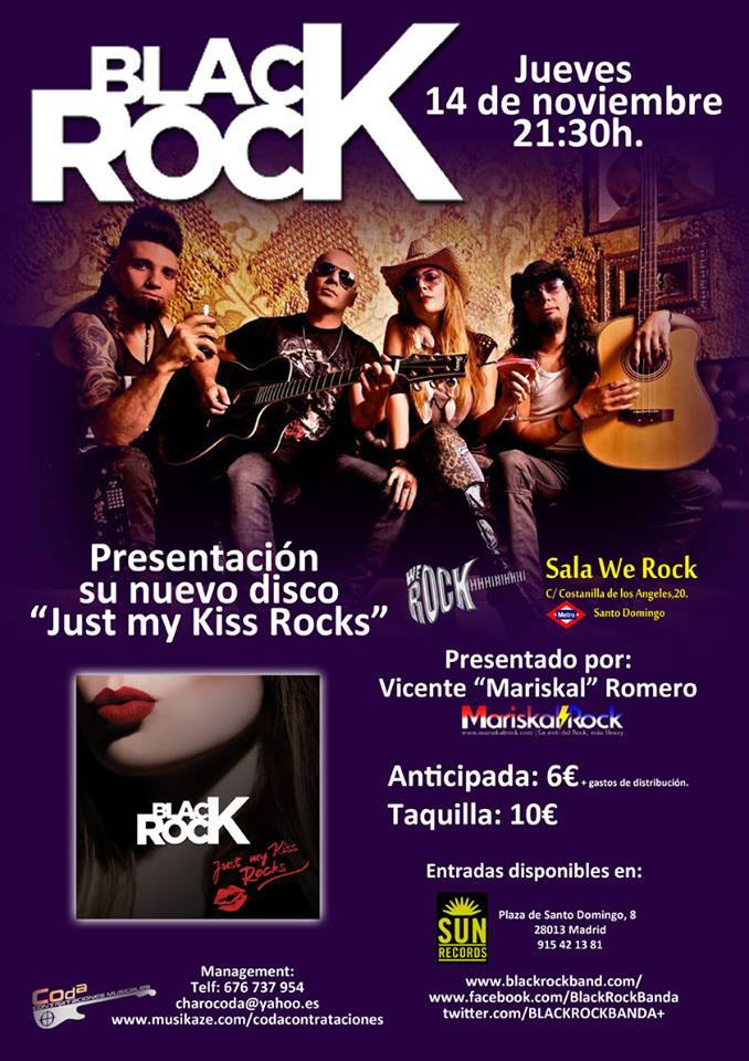 black rock madrid We Rock
