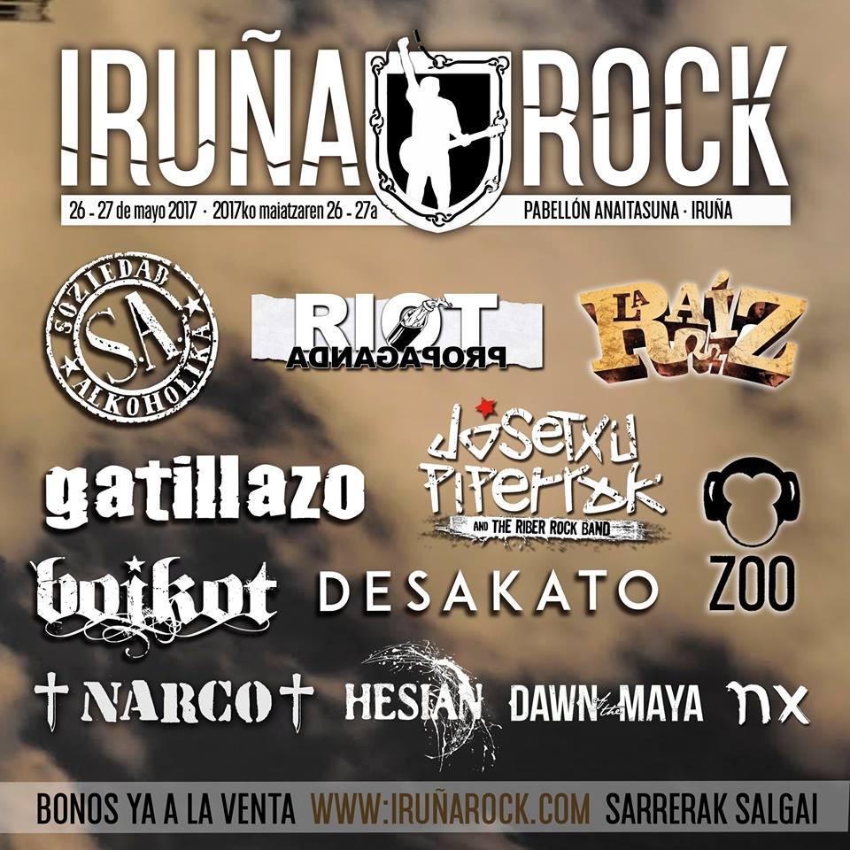 cartel iruña rock 2017_0